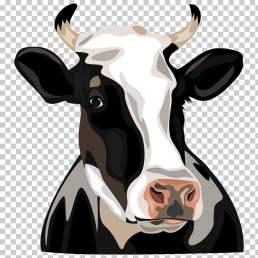 holstein-friesian-cattle-clip-art-cow-head